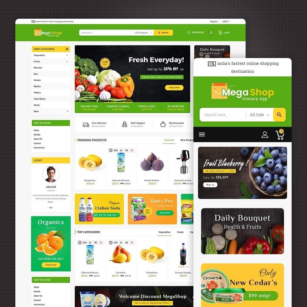 theme - Cibo & Ristorazione - Mega Grocery Shop - 2