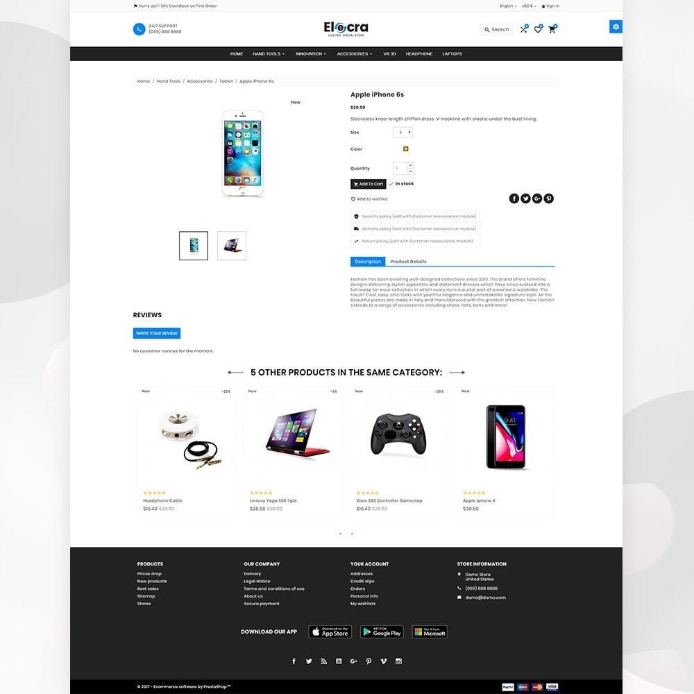 theme - Elektronica & High Tech - Elecra – Electronic Super Store - 4