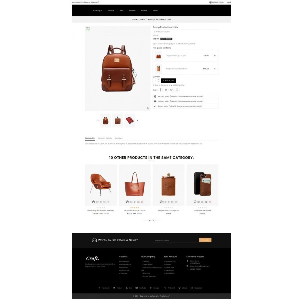 theme - Casa & Jardins - Leather Crafts - 5