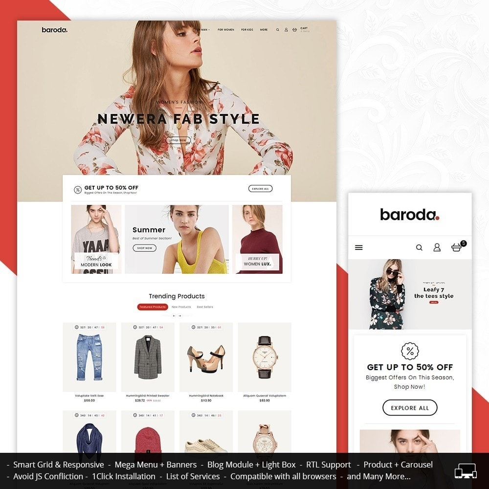 theme - Mode & Schuhe - Baroda Fabrics - 1
