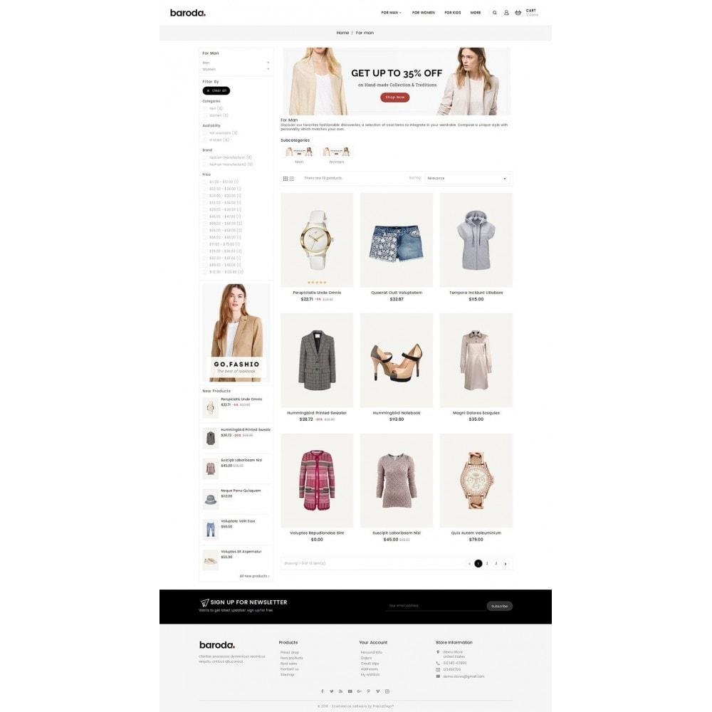 theme - Moda & Obuwie - Baroda Fabrics - 3