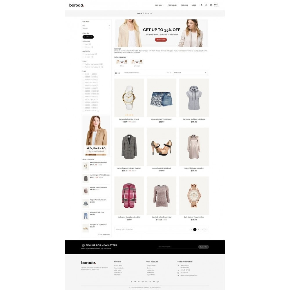 theme - Mode & Schuhe - Baroda Fabrics - 3