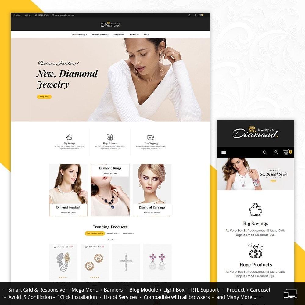 theme - Joalheria & Acessórios - Diamond Jewelry - 1