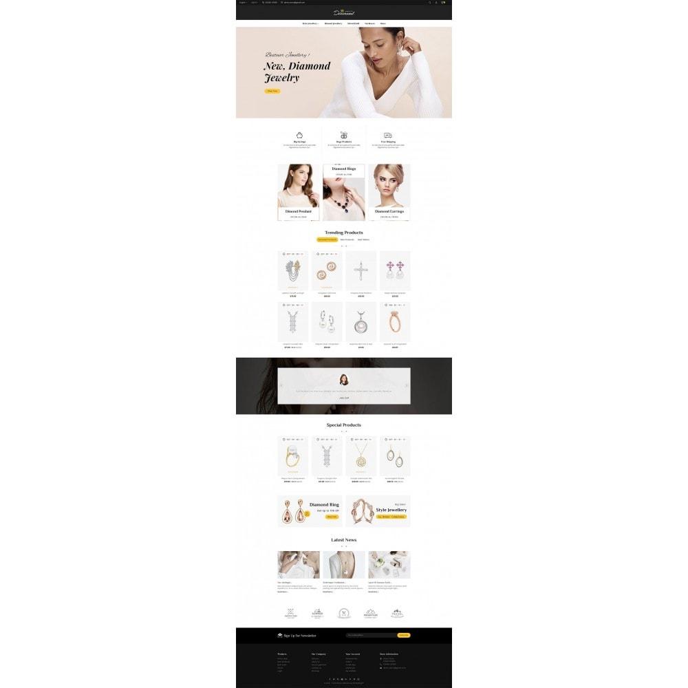 theme - Joalheria & Acessórios - Diamond Jewelry - 2