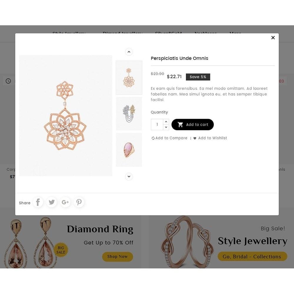 theme - Joalheria & Acessórios - Diamond Jewelry - 8