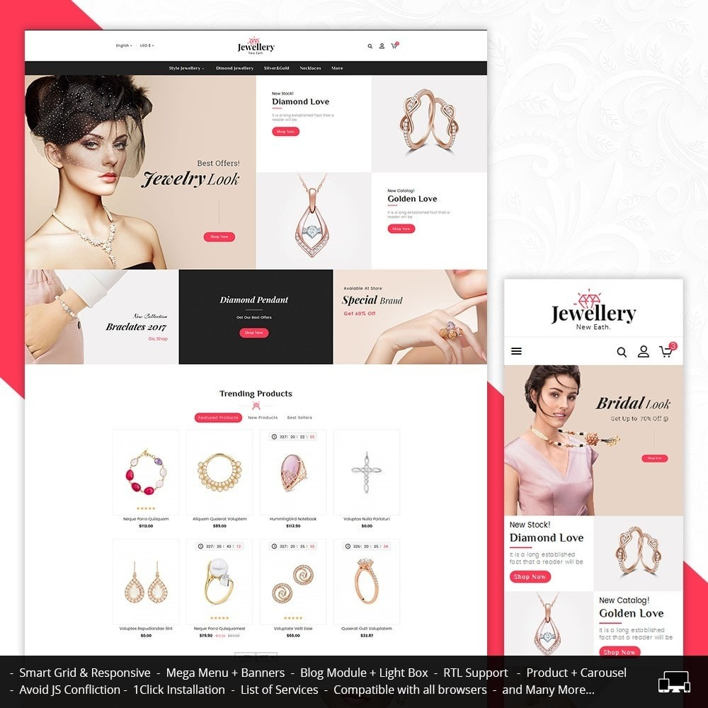 theme - Joalheria & Acessórios - Jewelry Shop - 1
