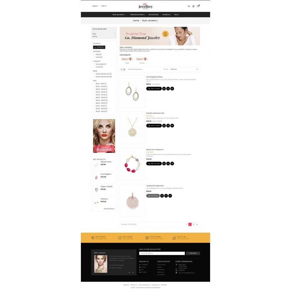 theme - Bellezza & Gioielli - Jewelry Shop - 4