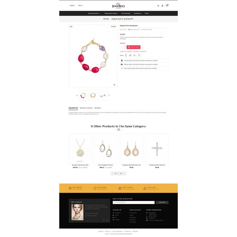theme - Bellezza & Gioielli - Jewelry Shop - 5