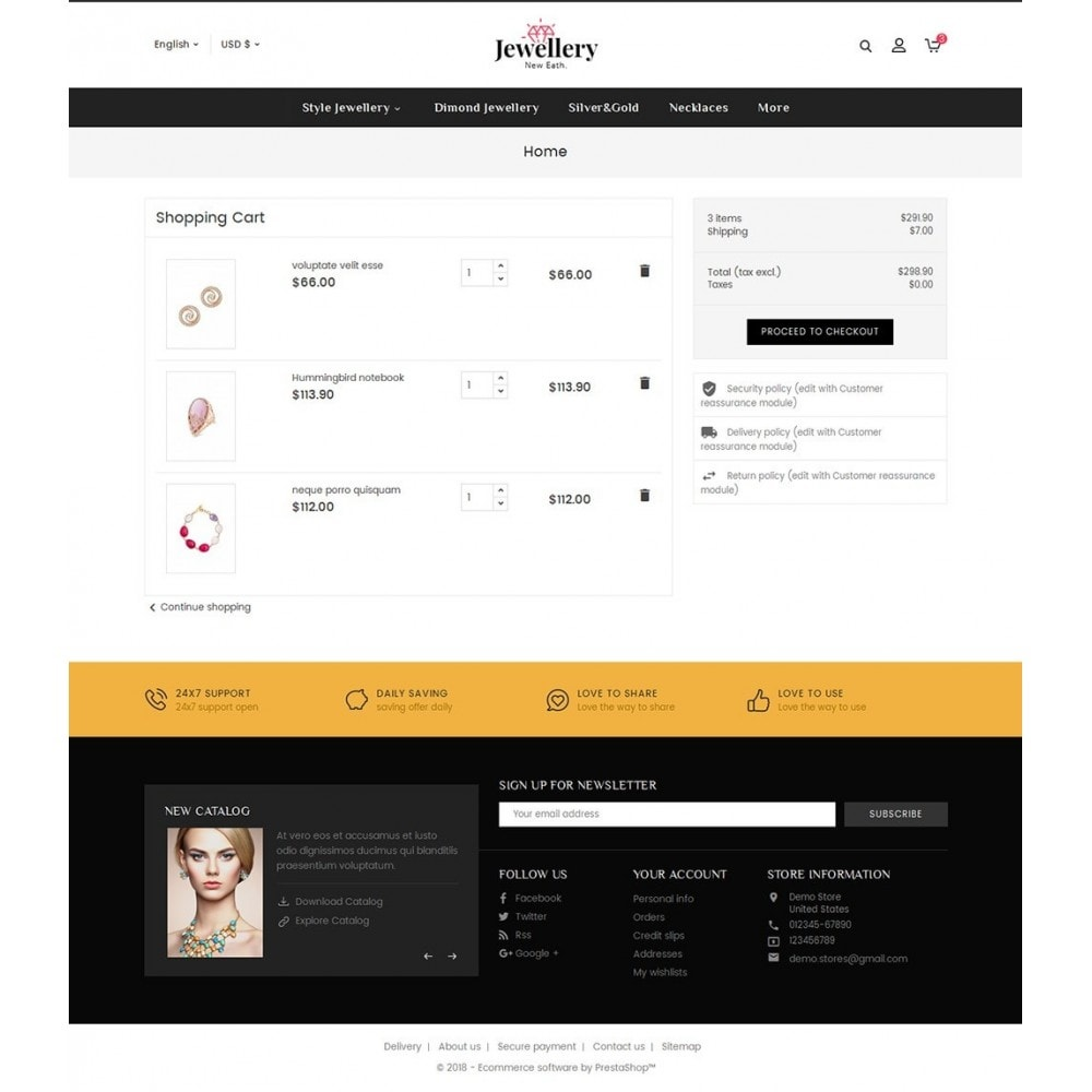theme - Joalheria & Acessórios - Jewelry Shop - 6