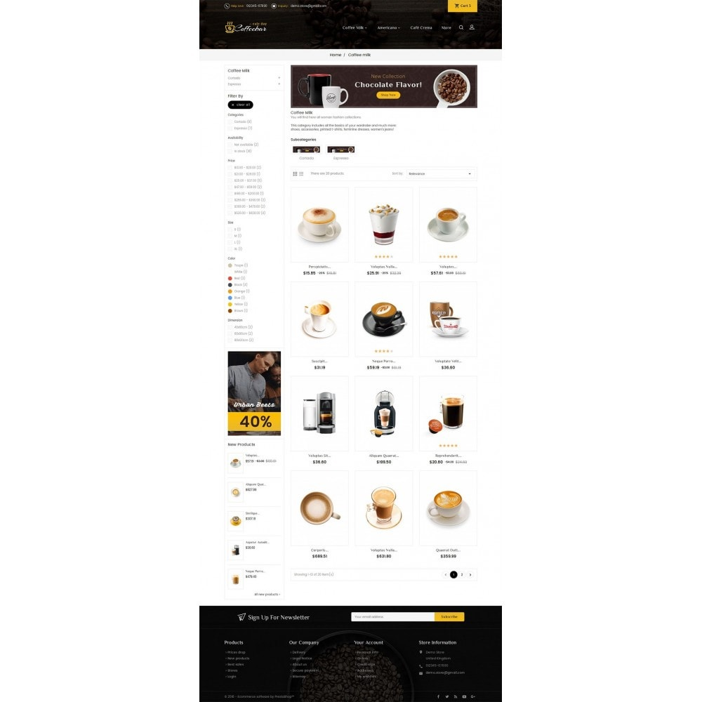 theme - Lebensmittel & Restaurants - Coffee Bar - 3