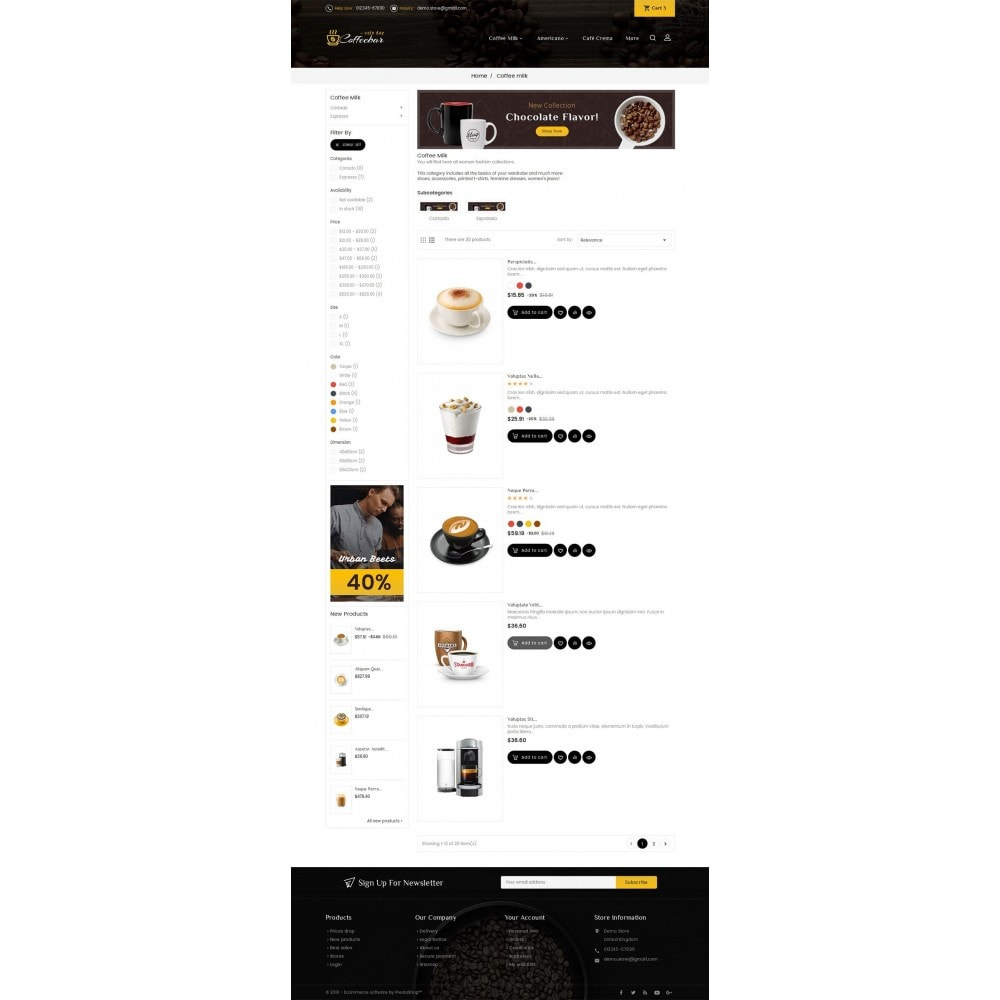 theme - Lebensmittel & Restaurants - Coffee Bar - 4