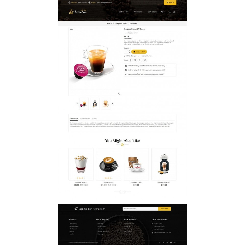 theme - Lebensmittel & Restaurants - Coffee Bar - 5