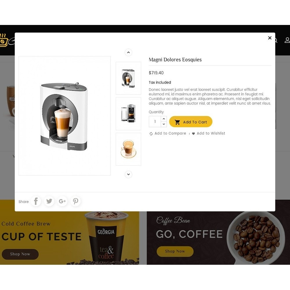 theme - Lebensmittel & Restaurants - Coffee Bar - 8