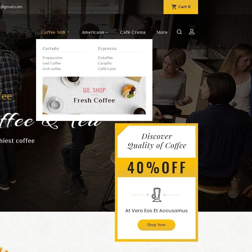 theme - Lebensmittel & Restaurants - Coffee Bar - 9