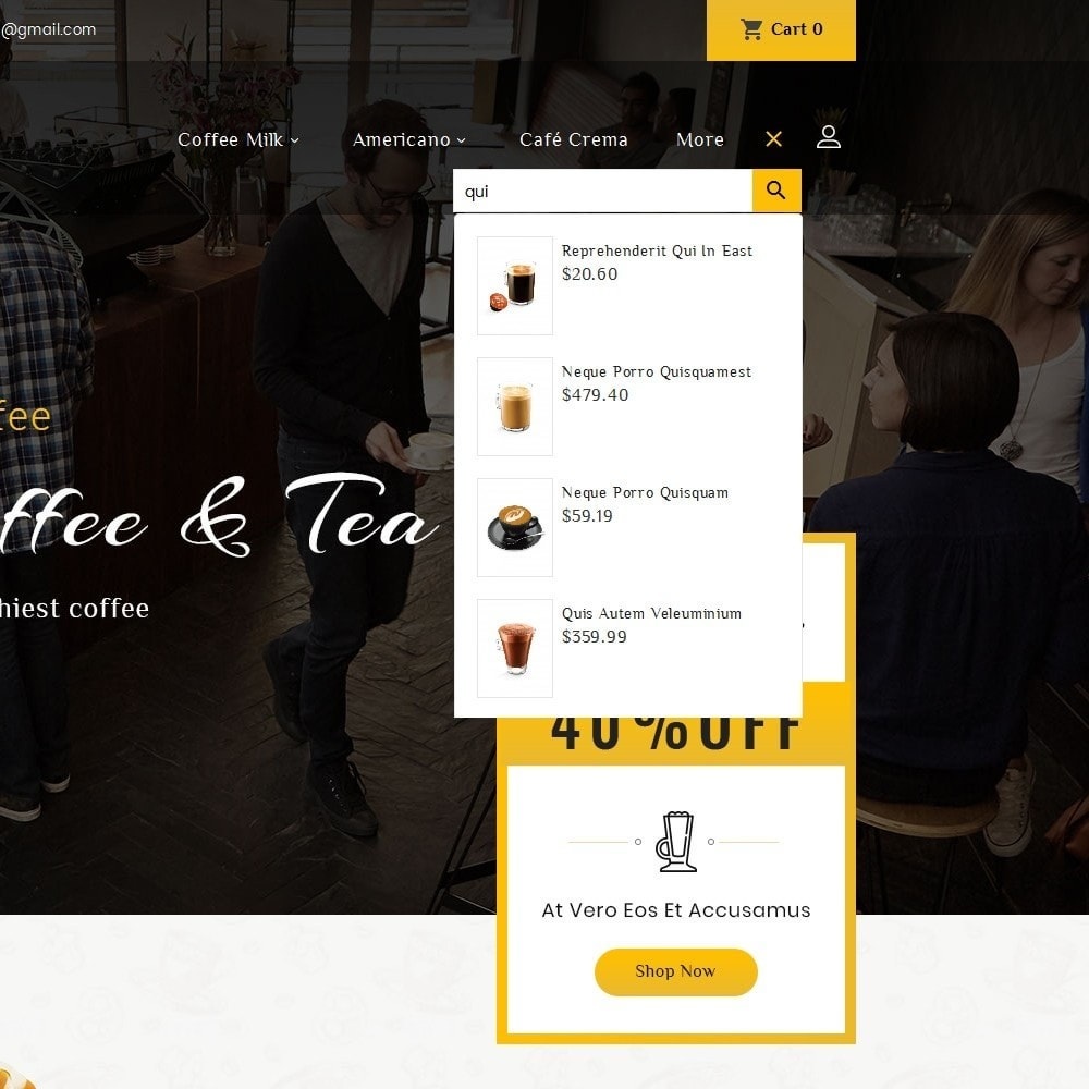 theme - Lebensmittel & Restaurants - Coffee Bar - 10