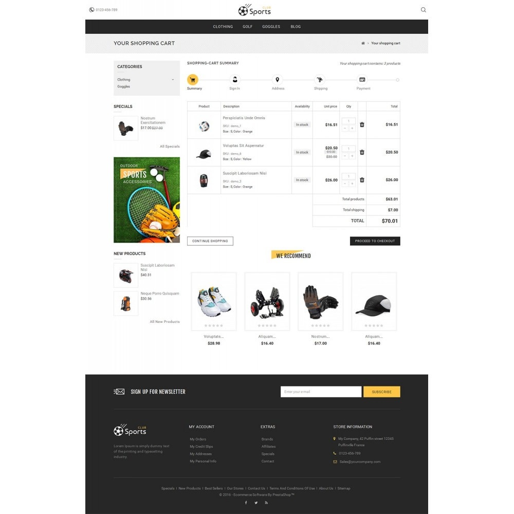 theme - Sport, Loisirs & Voyage - Sports Store - 6