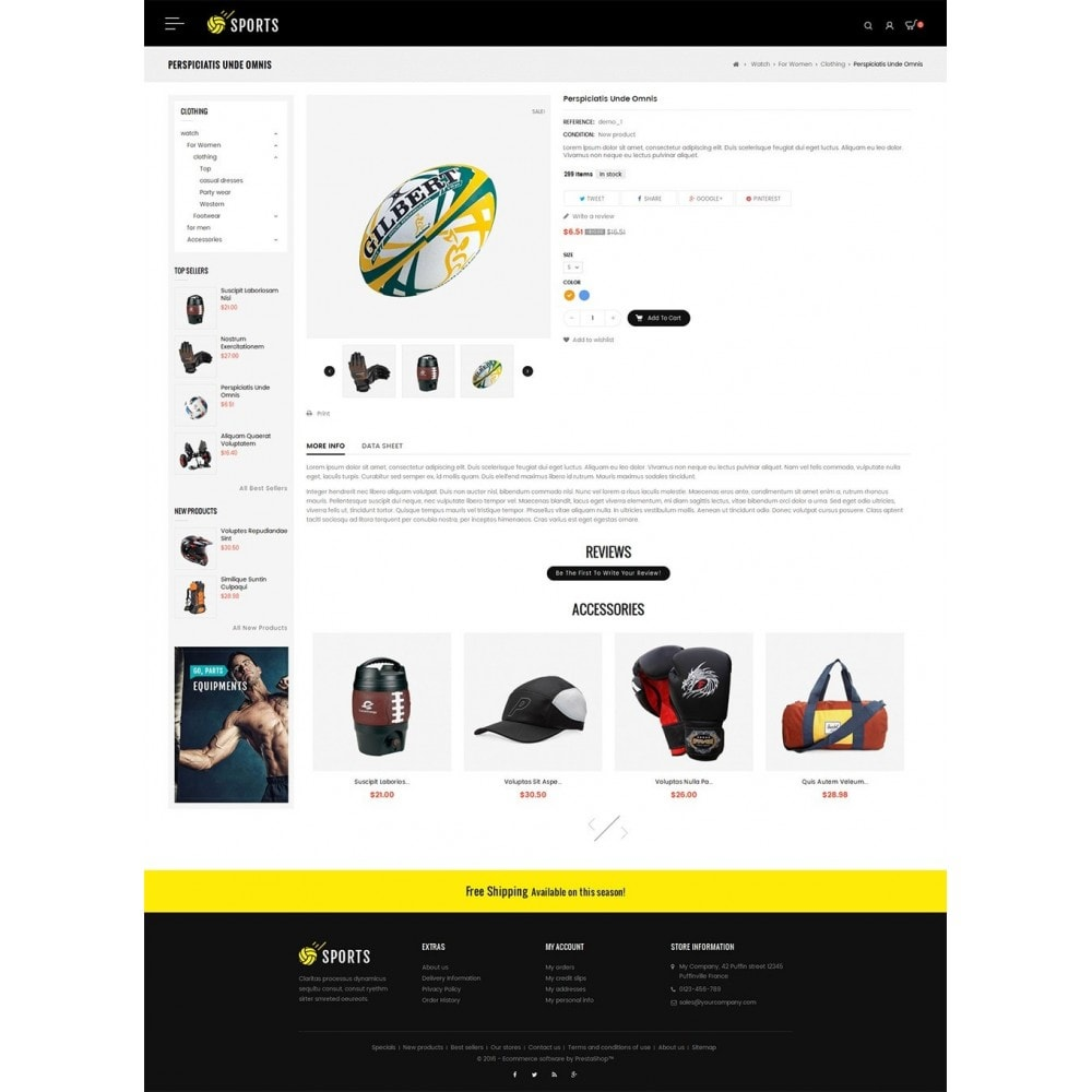 theme - Sport, Loisirs & Voyage - Sports Store - 6