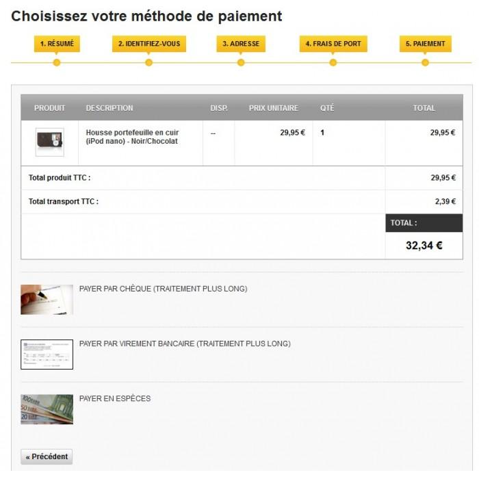 module - Pagamento in Negozio Fisico - Cash Payment / Paiement Espèces - 3
