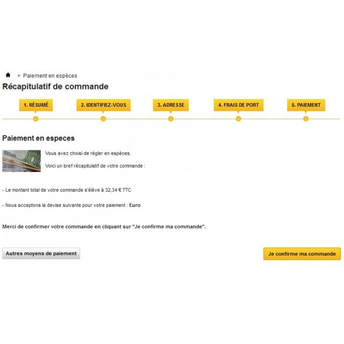 module - Pagamento in Negozio Fisico - Cash Payment / Paiement Espèces - 4