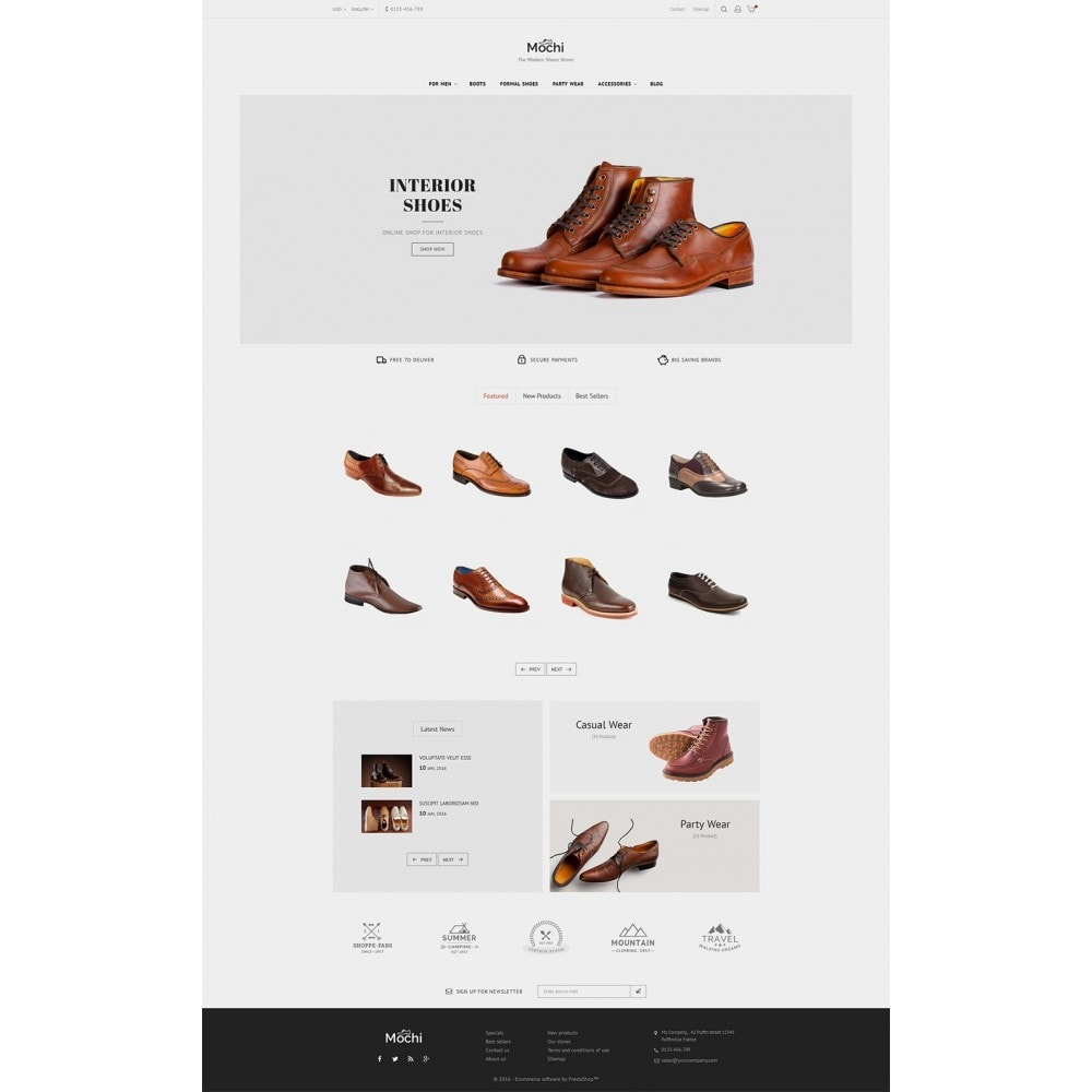 theme - Mode & Chaussures - Mochi Shoes Store - 3