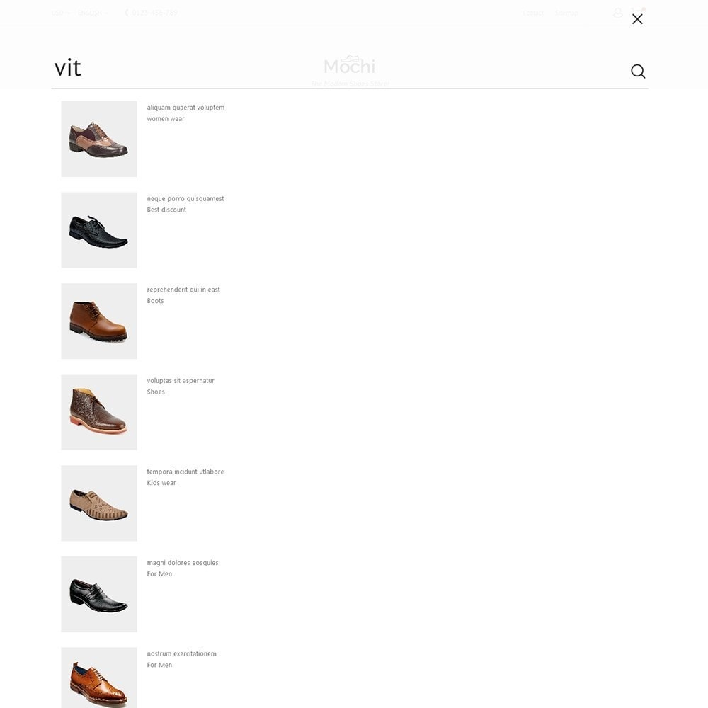 theme - Mode & Chaussures - Mochi Shoes Store - 10