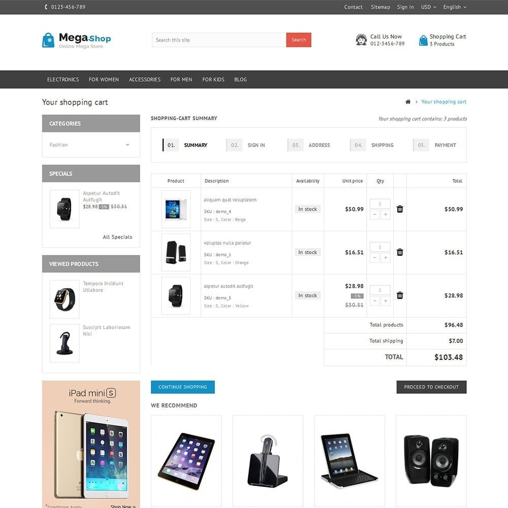 theme - Elektronik & High Tech - Mega Store - 7