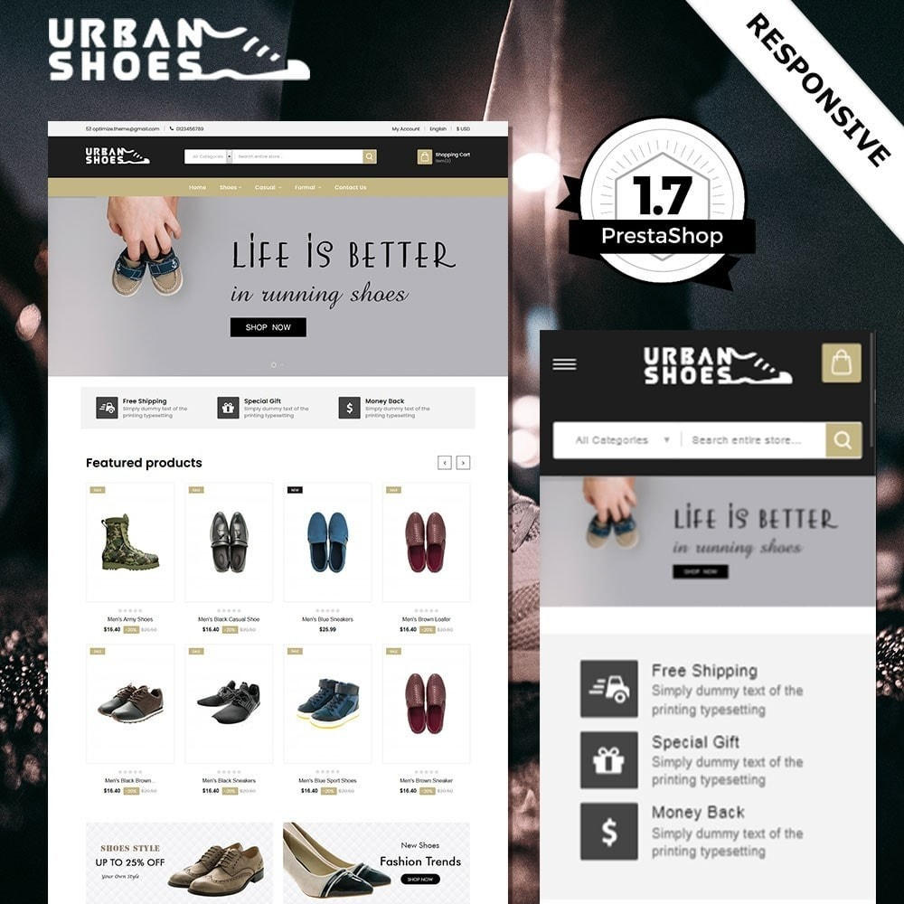 theme - Fashion & Shoes - Urban Shoes Store - 1