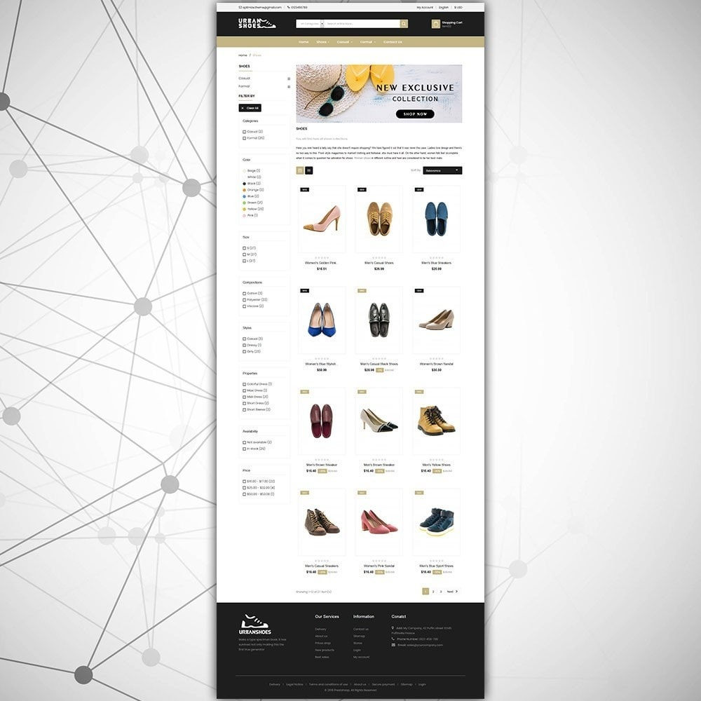 theme - Mode & Chaussures - Magasin de chaussures Urban - 4