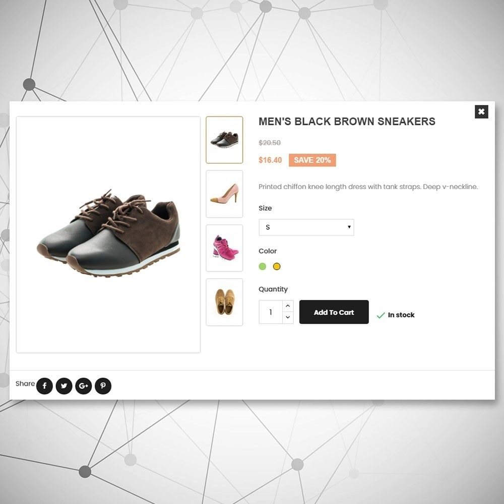 theme - Mode & Schuhe - Stedelijke schoenenwinkel - 7