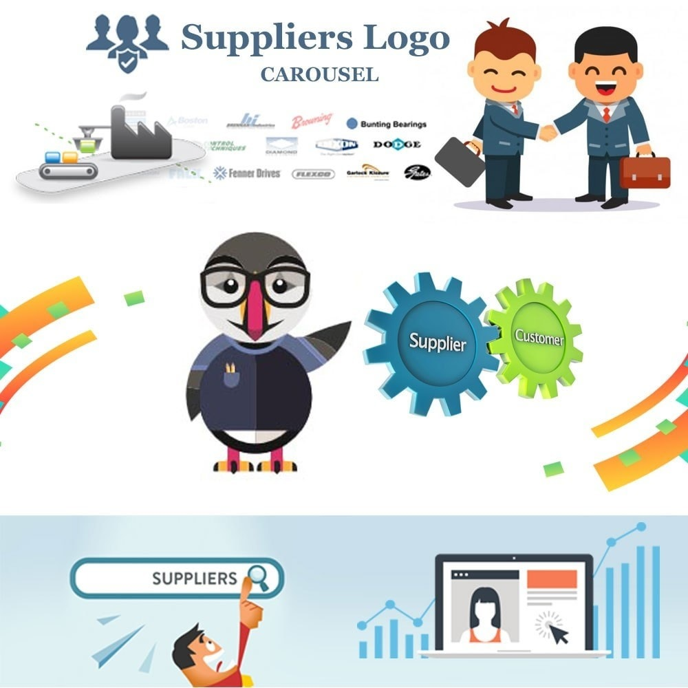 module - Sliders & Galleries - Suppliers logo carousel - 1