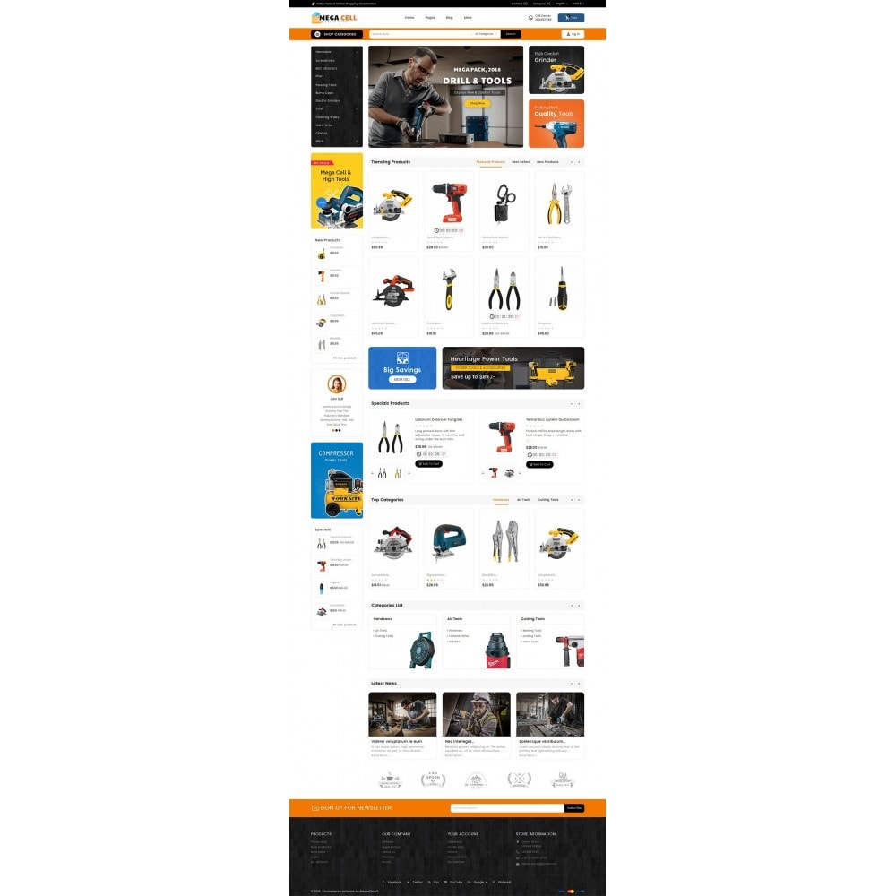 theme - Heim & Garten - Mega Cell Tools Equipment - 3