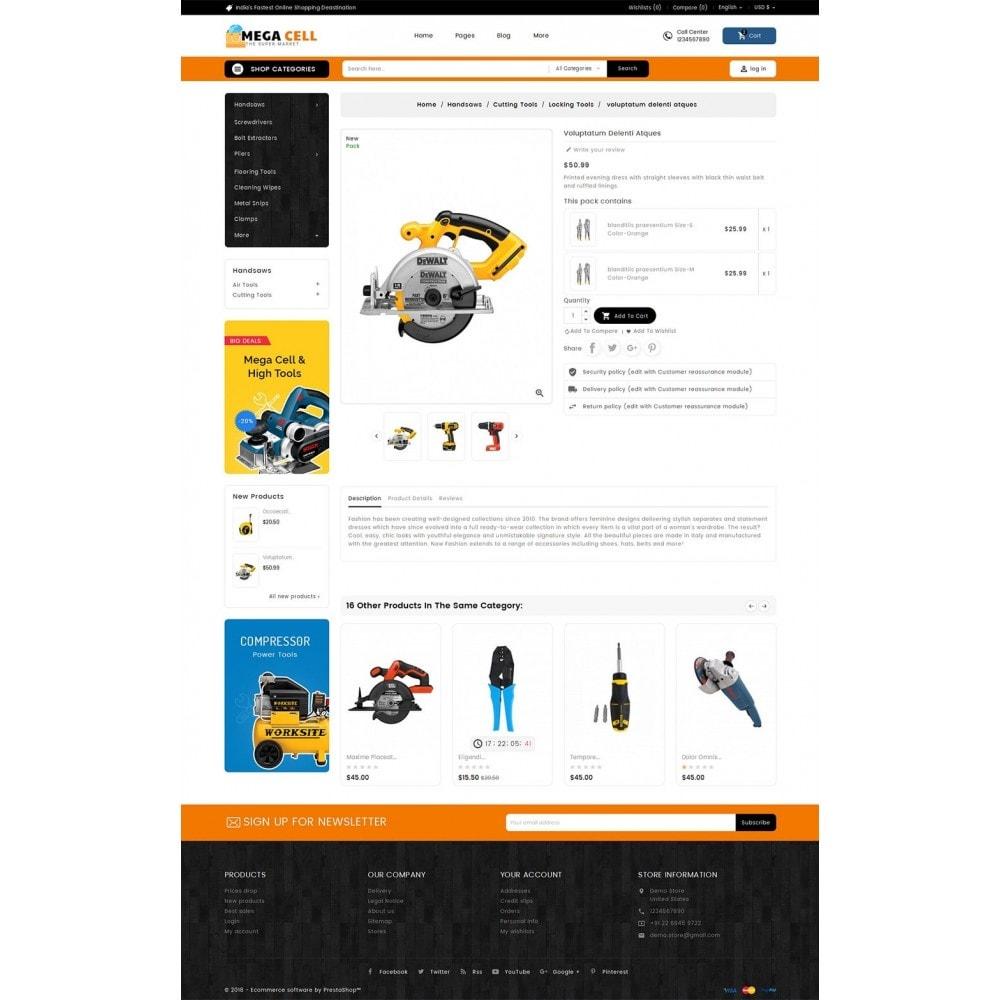 theme - Heim & Garten - Mega Cell Tools Equipment - 6