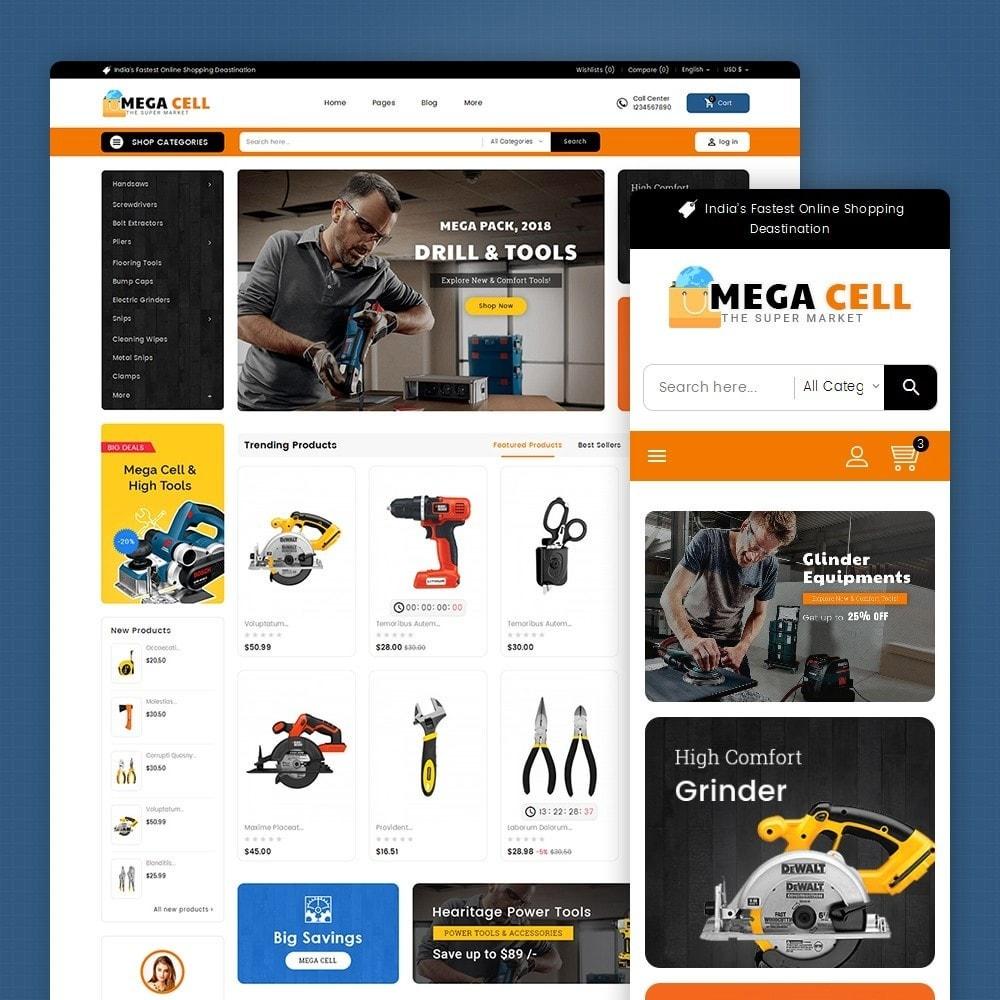 theme - Casa & Giardino - Mega Cell Tools Equipment - 2