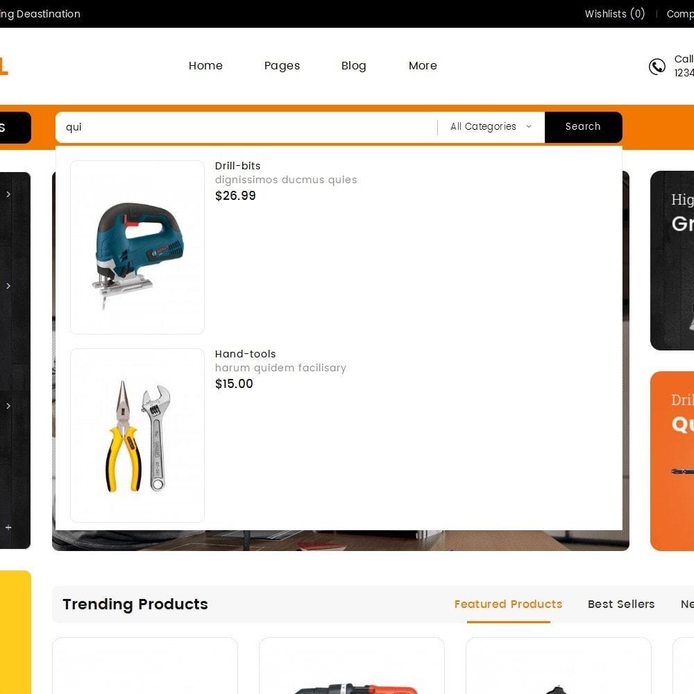 theme - Casa & Giardino - Mega Cell Tools Equipment - 10