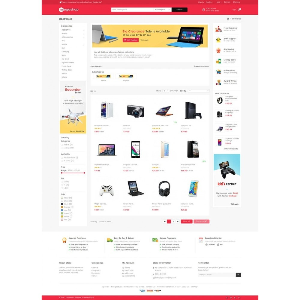 theme - Elektronik & High Tech - Mega Electronics Store - 5