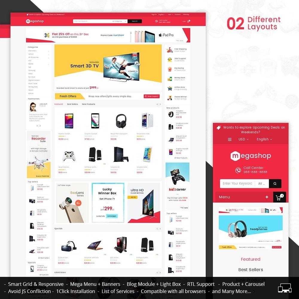 theme - Electrónica e High Tech - Mega Electronics Store - 2