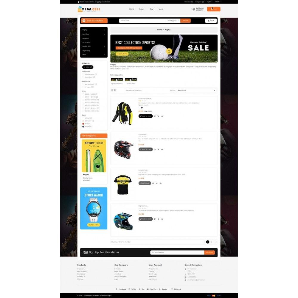 theme - Deportes, Actividades y Viajes - Mega Cell Sports Equipment - 5