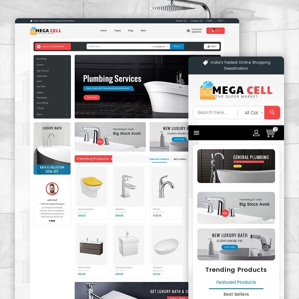 theme - Auto & Moto - Mega Cell Plumbing Apparatuses - 2