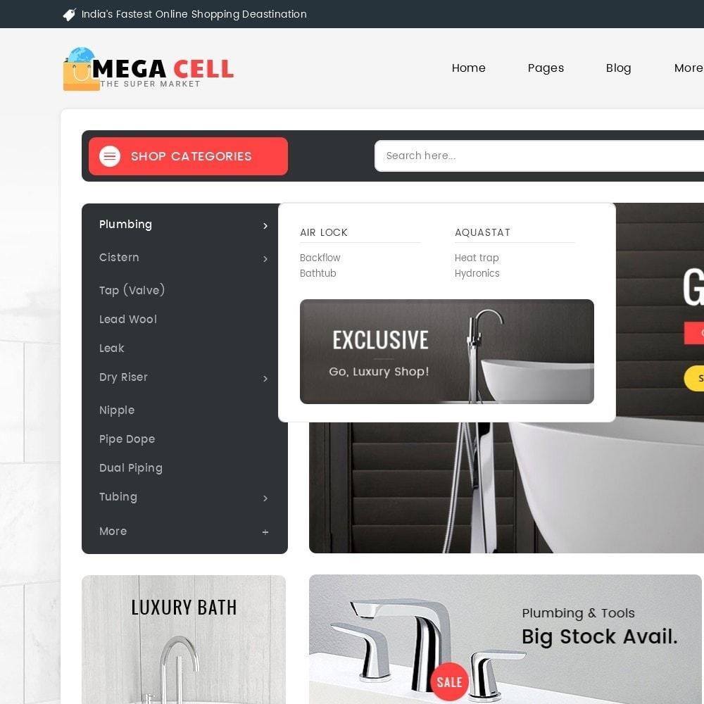 theme - Auto & Moto - Mega Cell Plumbing Apparatuses - 9