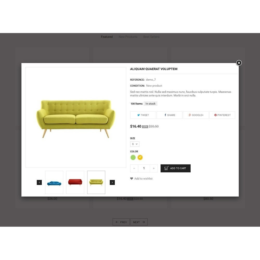 theme - Hogar y Jardín - Luxury Sofa Store - 7