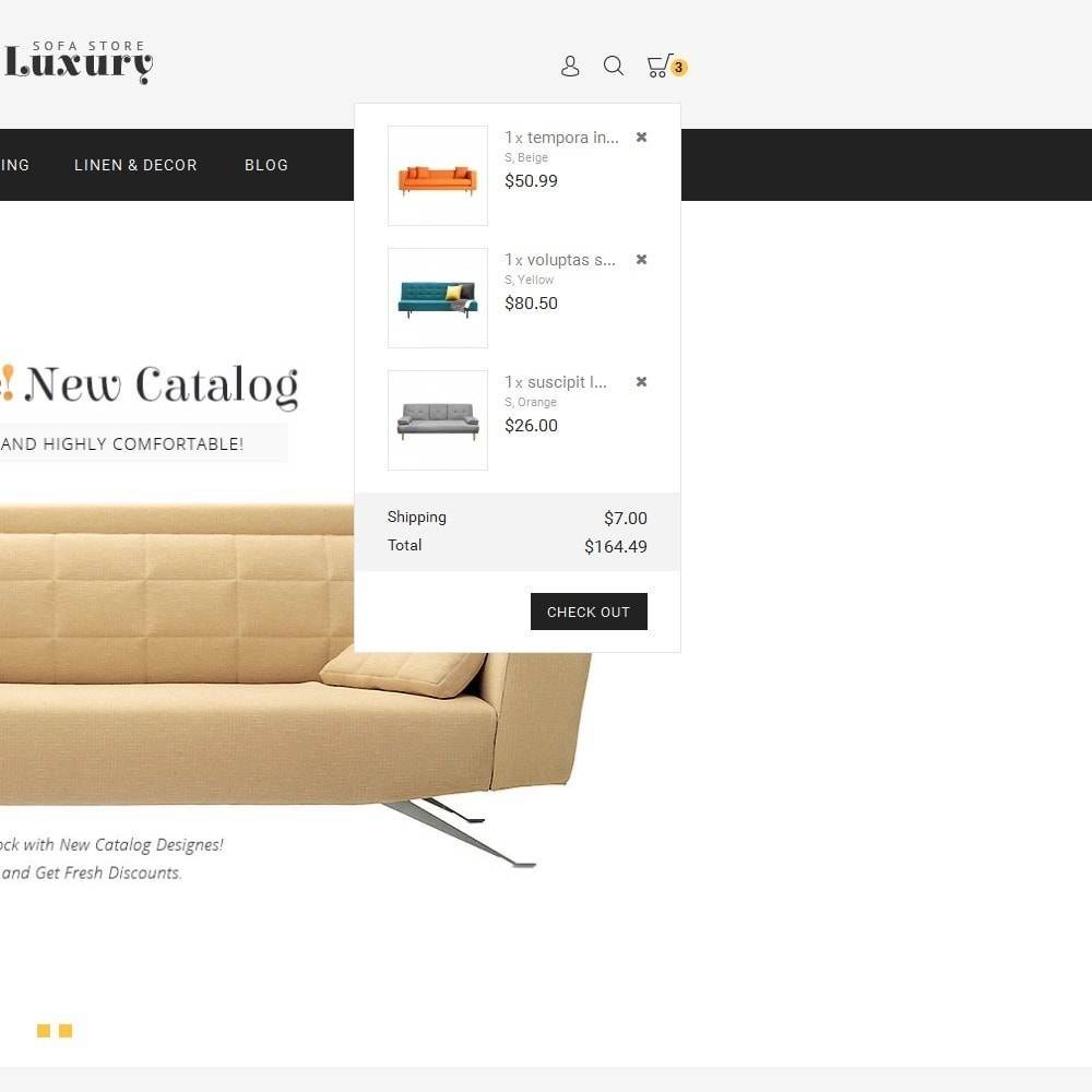 theme - Casa & Giardino - Luxury Sofa Store - 9