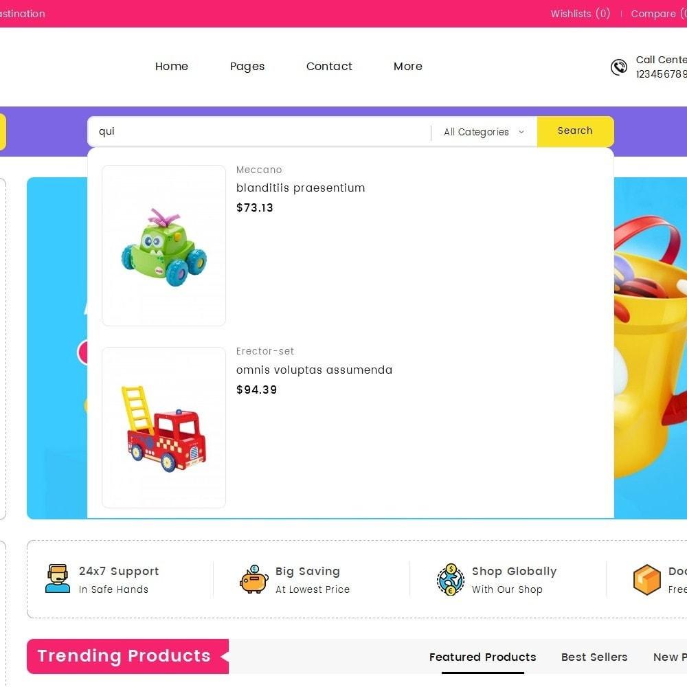 theme - Enfants & Jouets - Mega Cell Kid Toys - 10