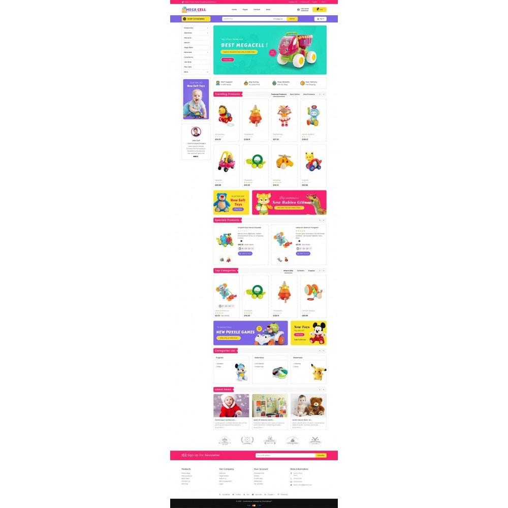 theme - Kinder & Spielzeug - Mega Cell Kid Toys - 3