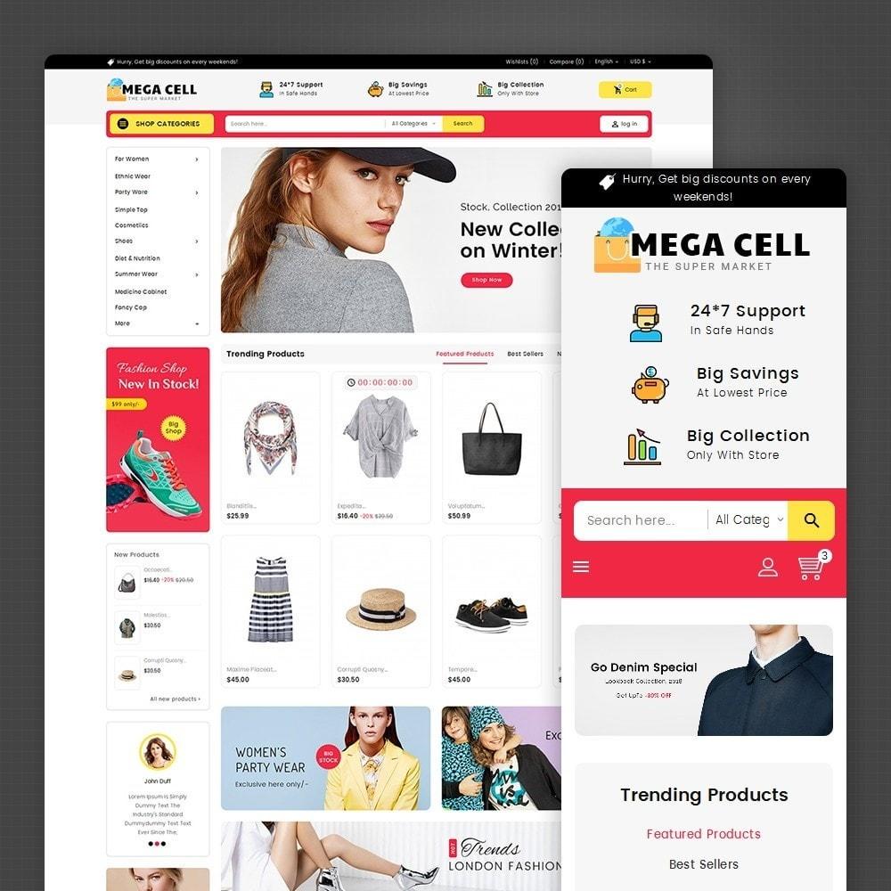 theme - Moda & Calzature - Mega Cell Fashion Market - 2