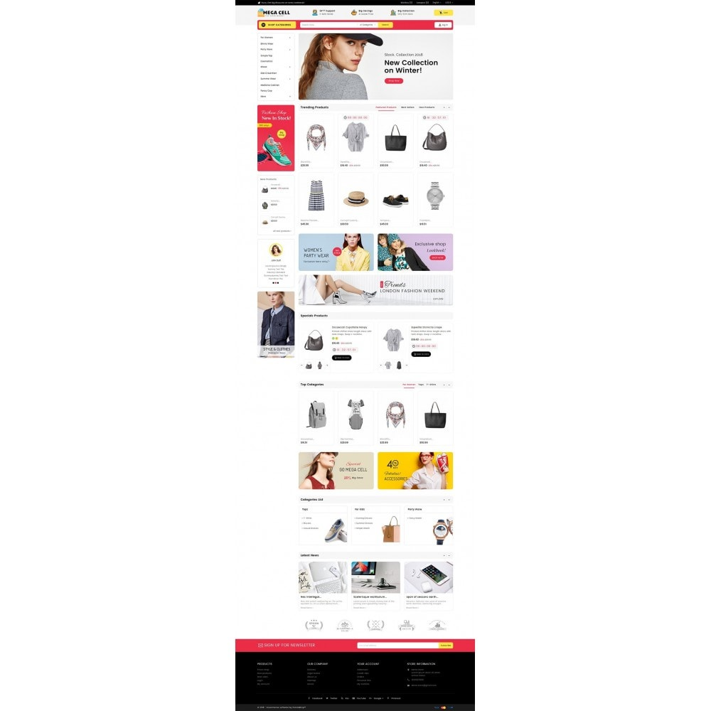 theme - Moda & Calzature - Mega Cell Fashion Market - 3