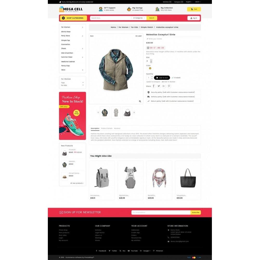 theme - Moda & Calzature - Mega Cell Fashion Market - 6