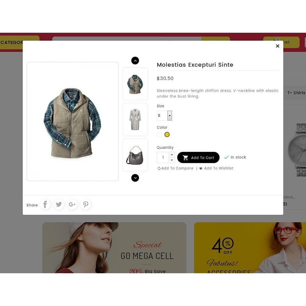 theme - Moda & Calzature - Mega Cell Fashion Market - 8
