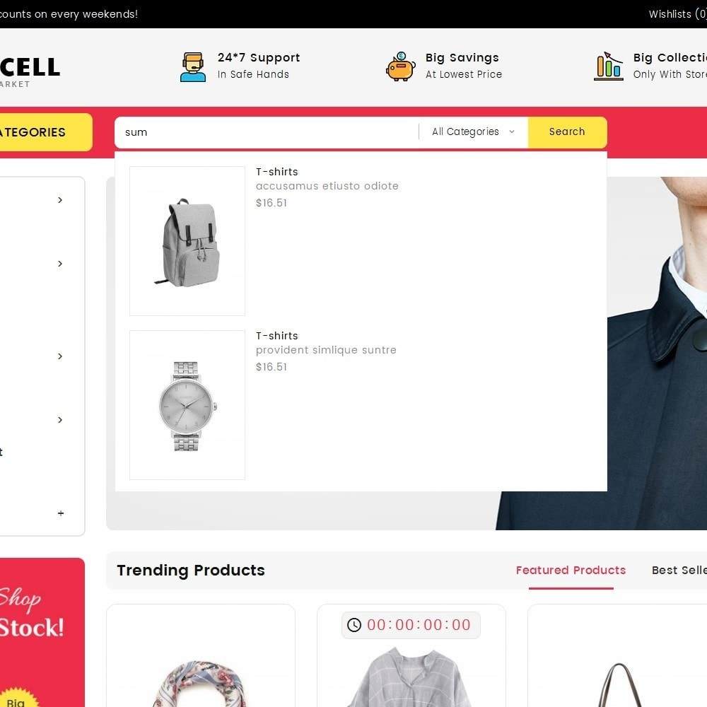 theme - Moda & Calzature - Mega Cell Fashion Market - 10