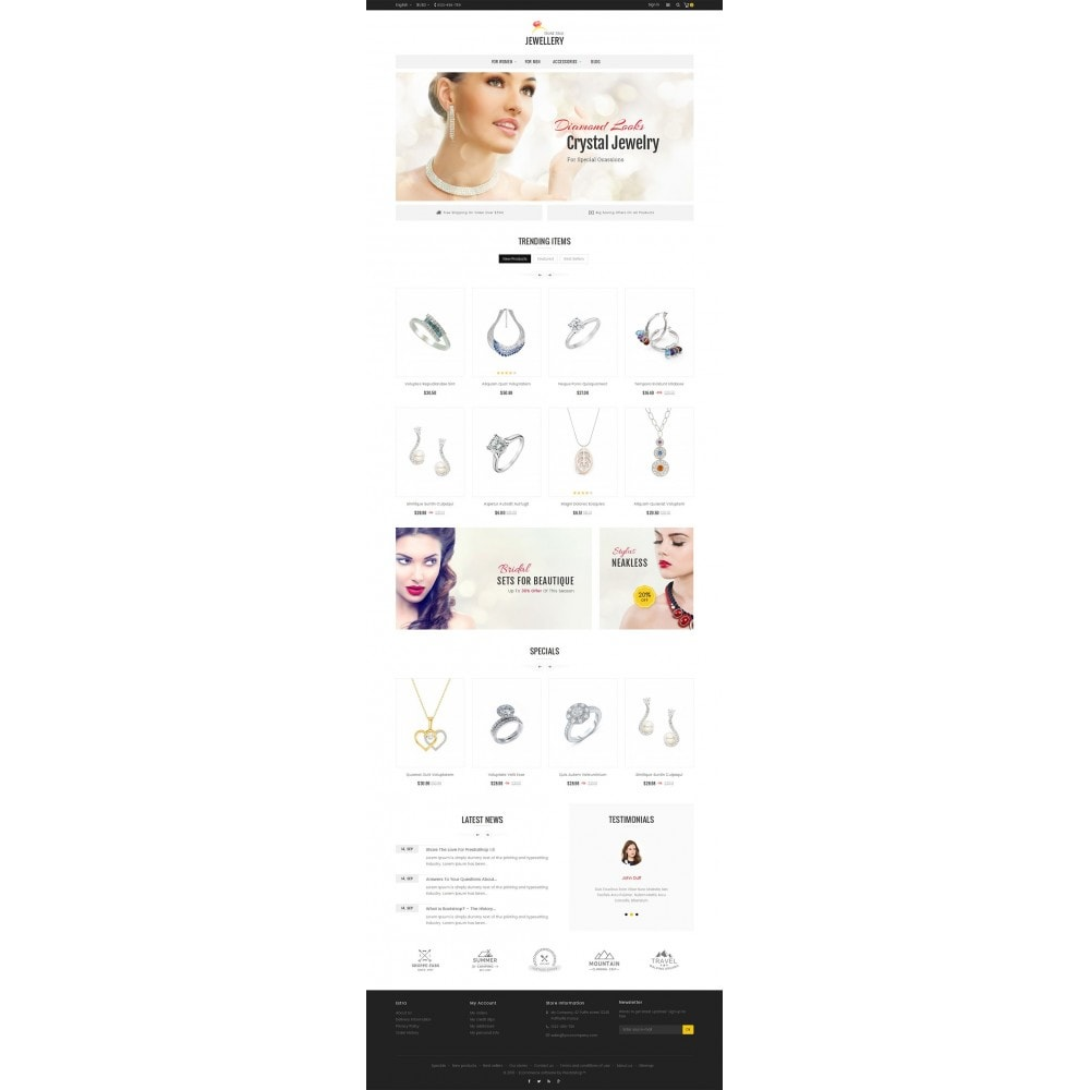 theme - Schmuck & Accesoires - Jewelry Store - 3