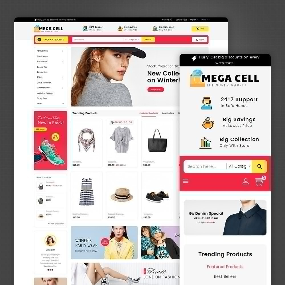 theme - Elektronik & High Tech - Mega Cell Electronics Market - 2